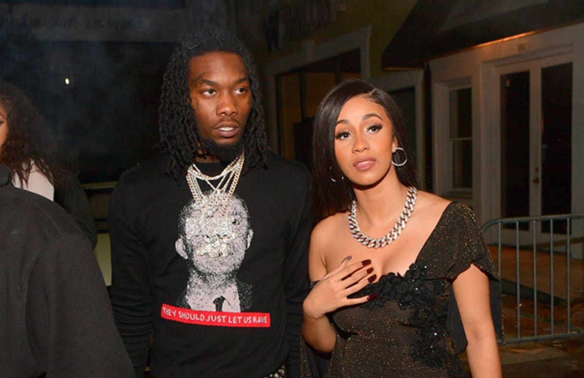 Offset Gets A Cardi B Tattoo To Prove His Love: Cardi B And Offset Link Up For Remix Of Chris Jeday's