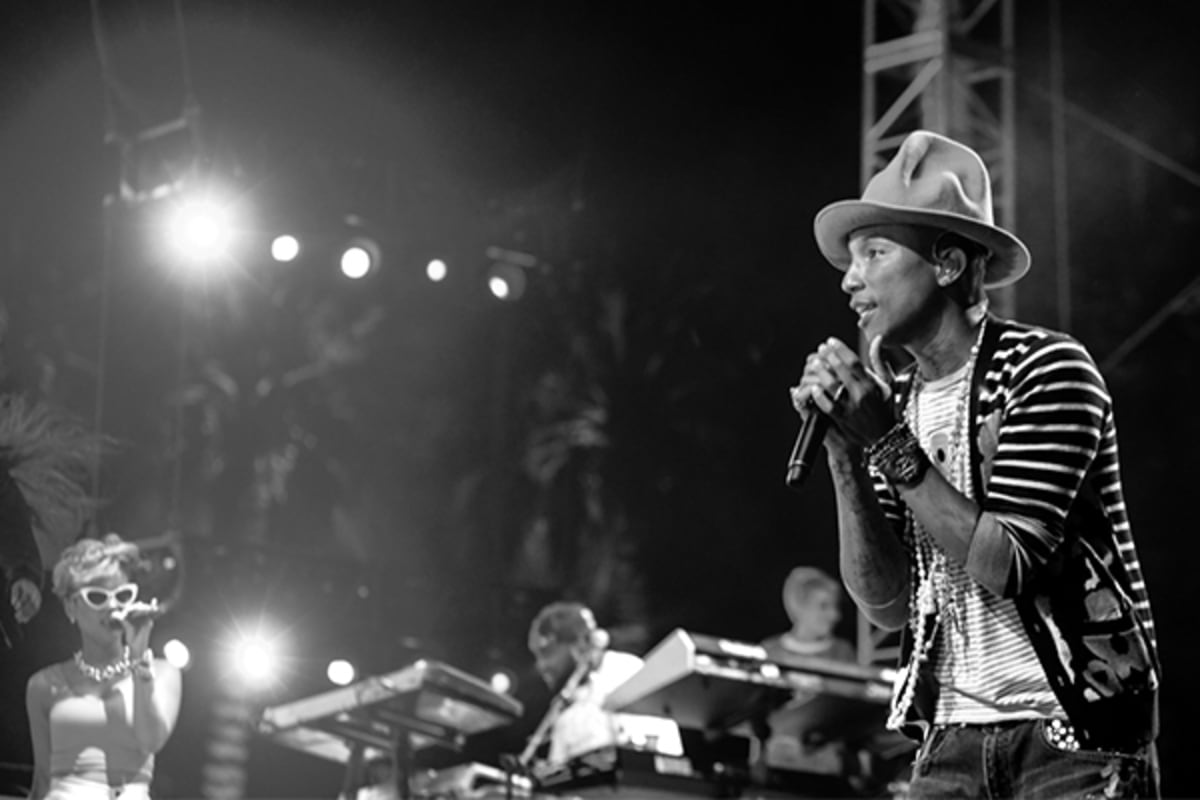 Pharrell Shares a Message of Hope for 2017