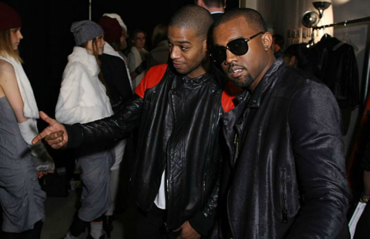 Kanye west and kid cudi might have a secret project in the for West out of best project