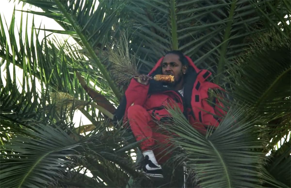 """TDE on Kendrick Lamar Eating Elote in a Palm Tree: """"What's the Most LA-est Sh*t We Can Do?"""""""