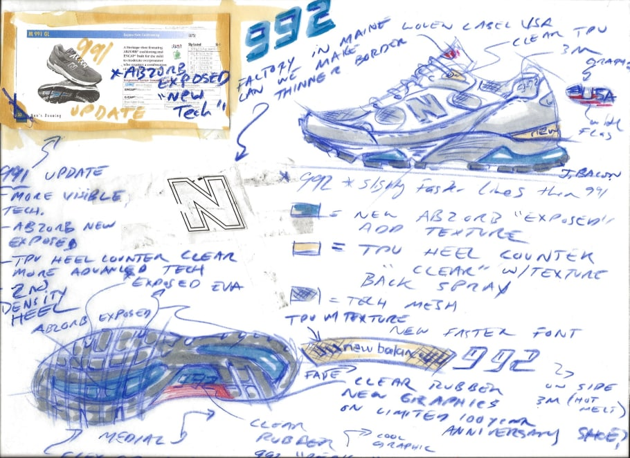 New Balance 992: The Story of the Steve Jobs Sneakers | Complex