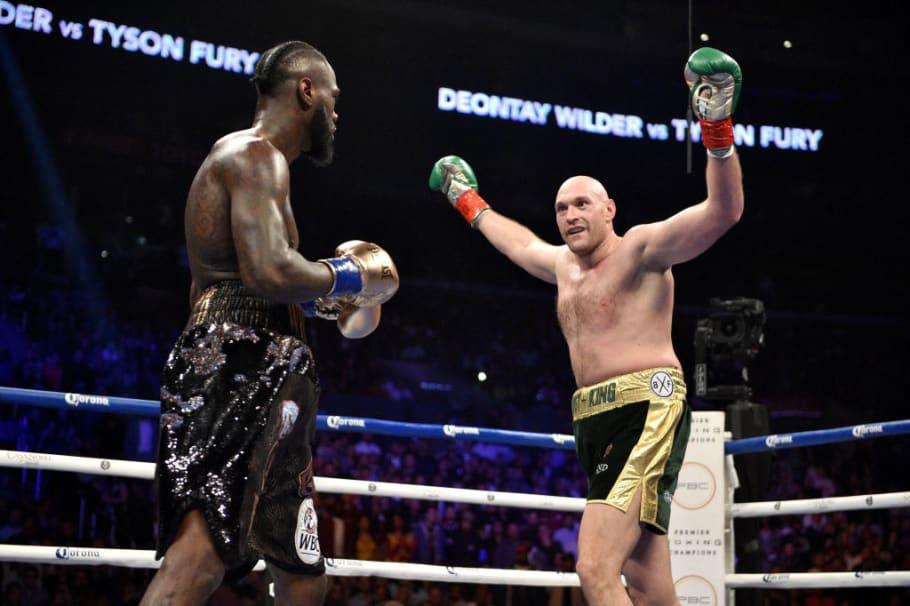 Tyson Fury đứng đầu danh sách hạng nặng của tạp chí The Ring