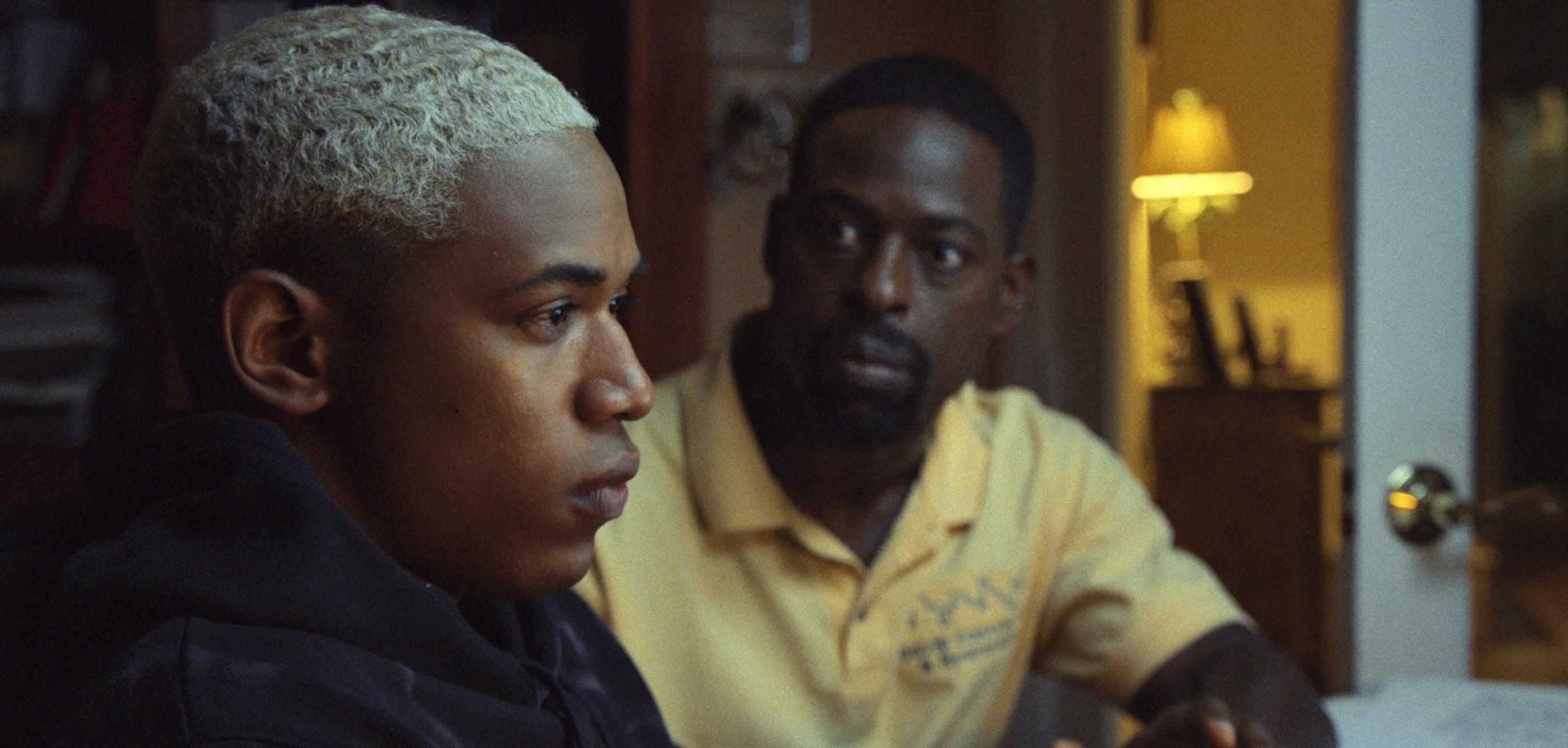 Kelvin Harrison Jr. and Sterling K. Brown in 'Waves'