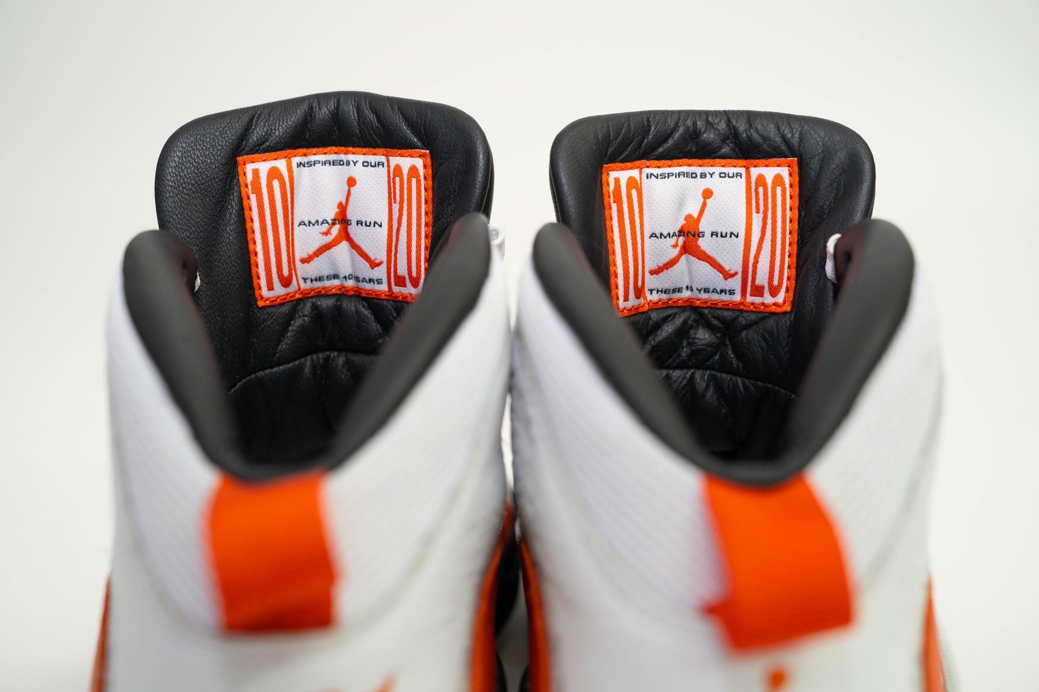 SoleFly x Air Jordan 10 PE Release Date Tongue