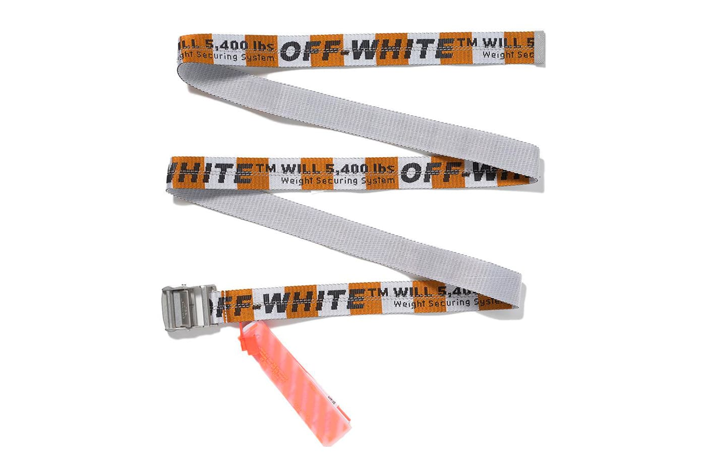 Off White MCA Chicago Figures Of Speech Industrial Belt