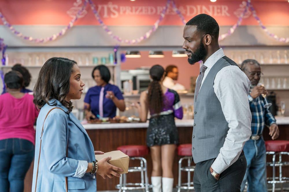 Bianca Lawson and Kofi Siriboe in 'Queen Sugar'