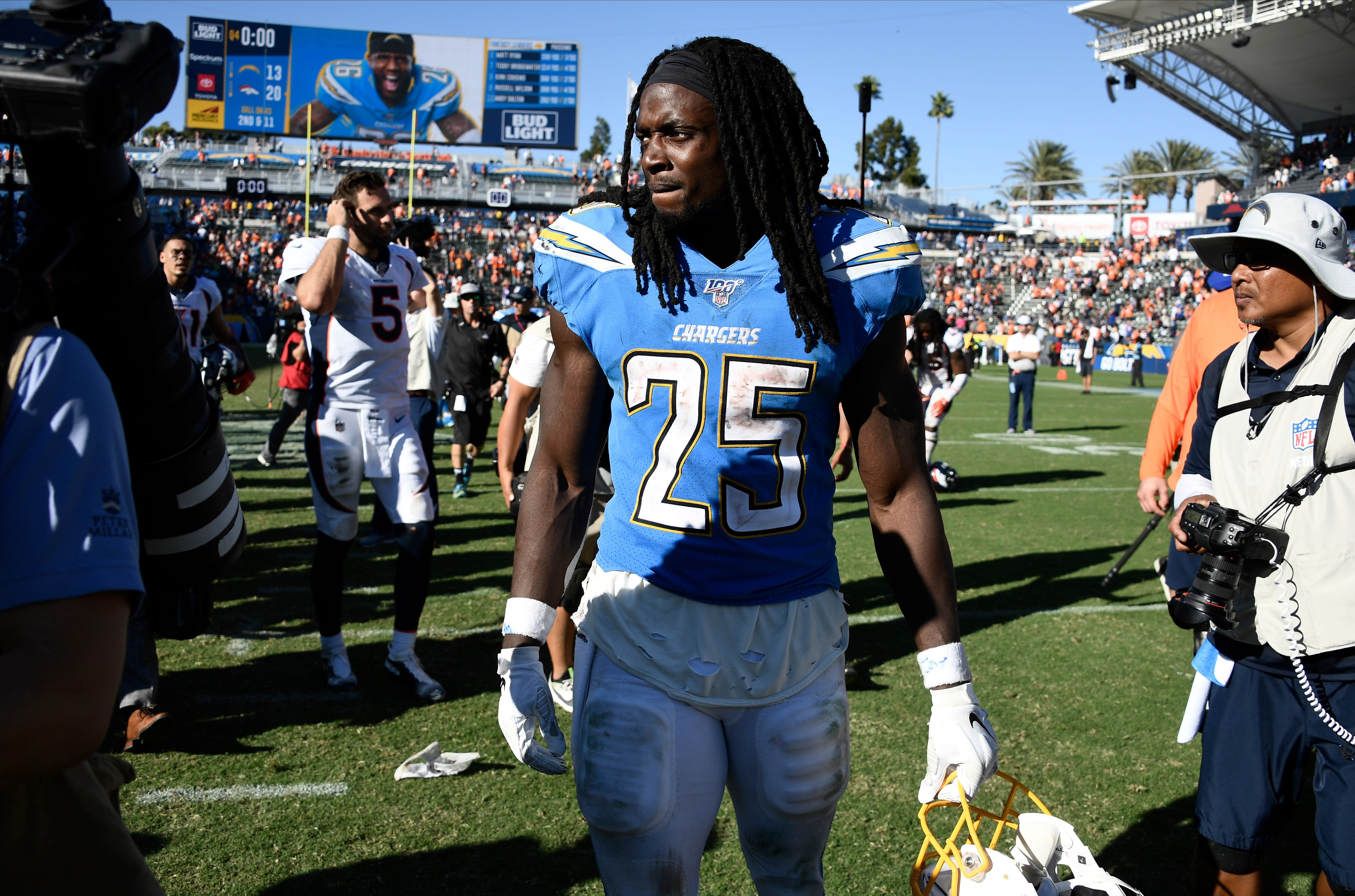 Melvin Gordon Chargers Broncos 2 2019