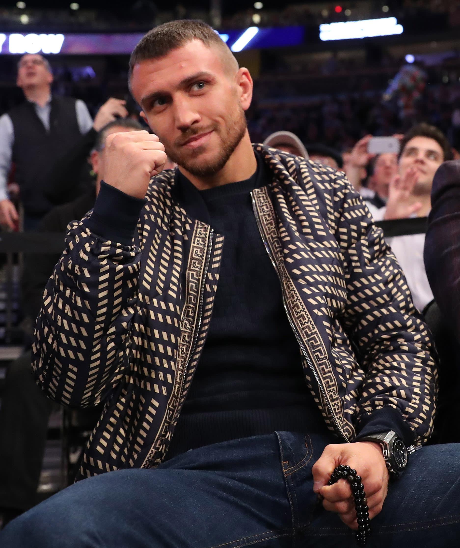 Vasyl Lomachenko Knicks Grizzlies 2017