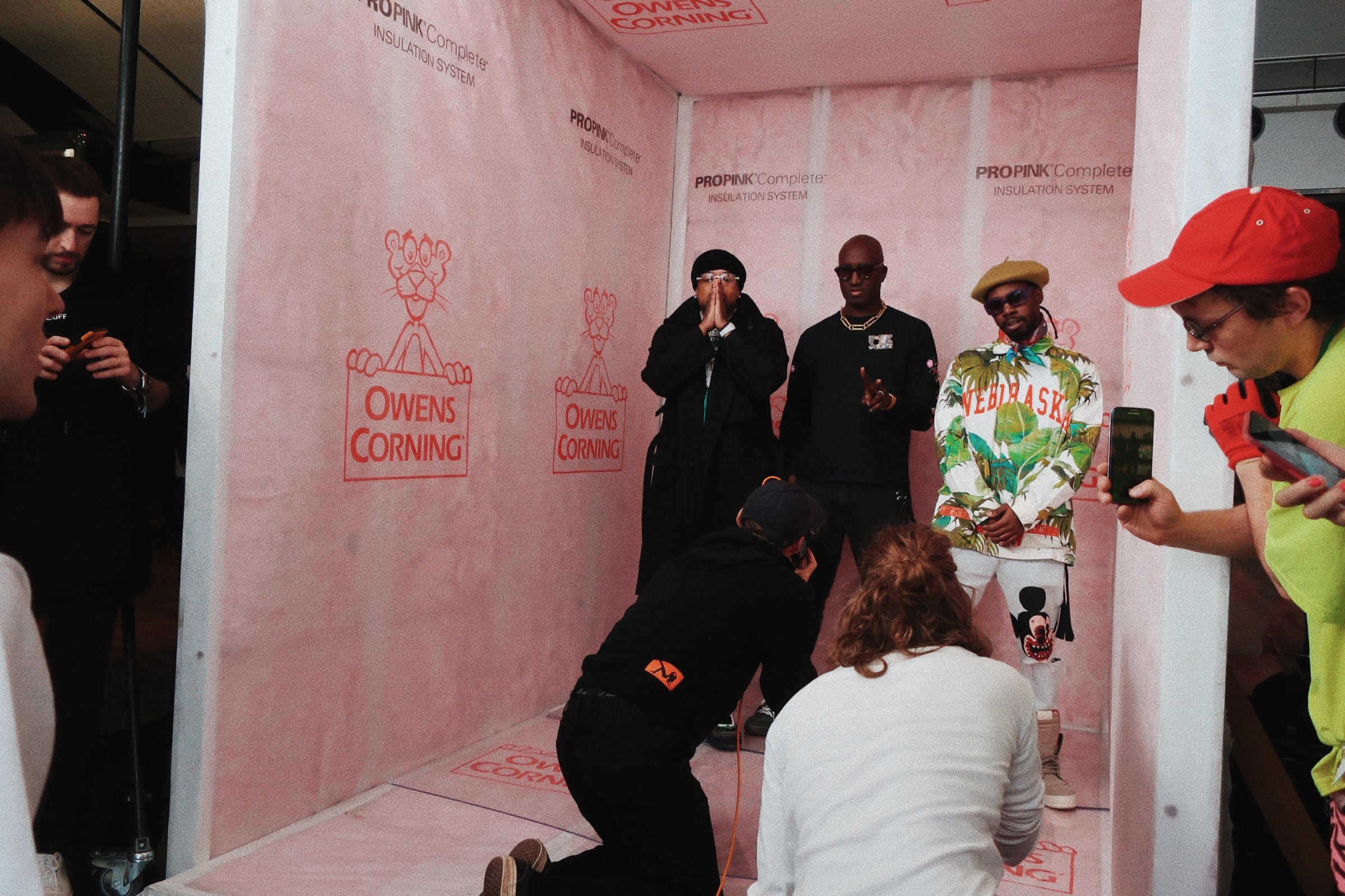 Westside Gunn and Virgil Abloh at Off-White Fall-