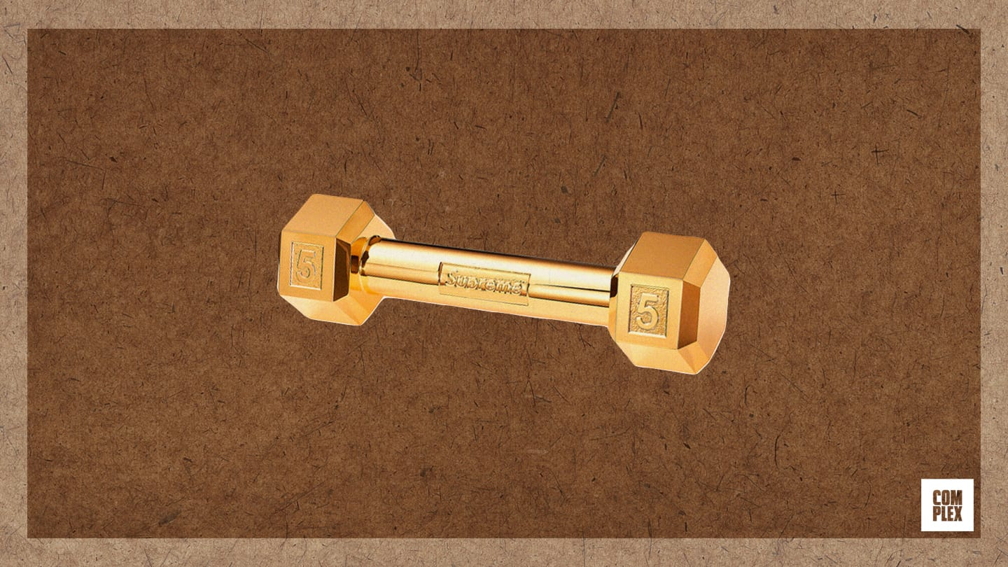Complex Last 10 Things Eric Whiteback Gold Dumbell