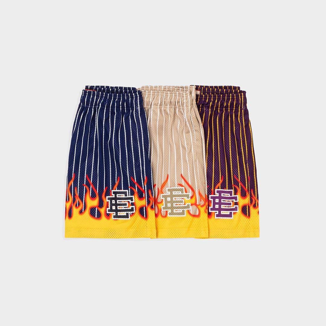 Eric Emanuel Flame Shorts