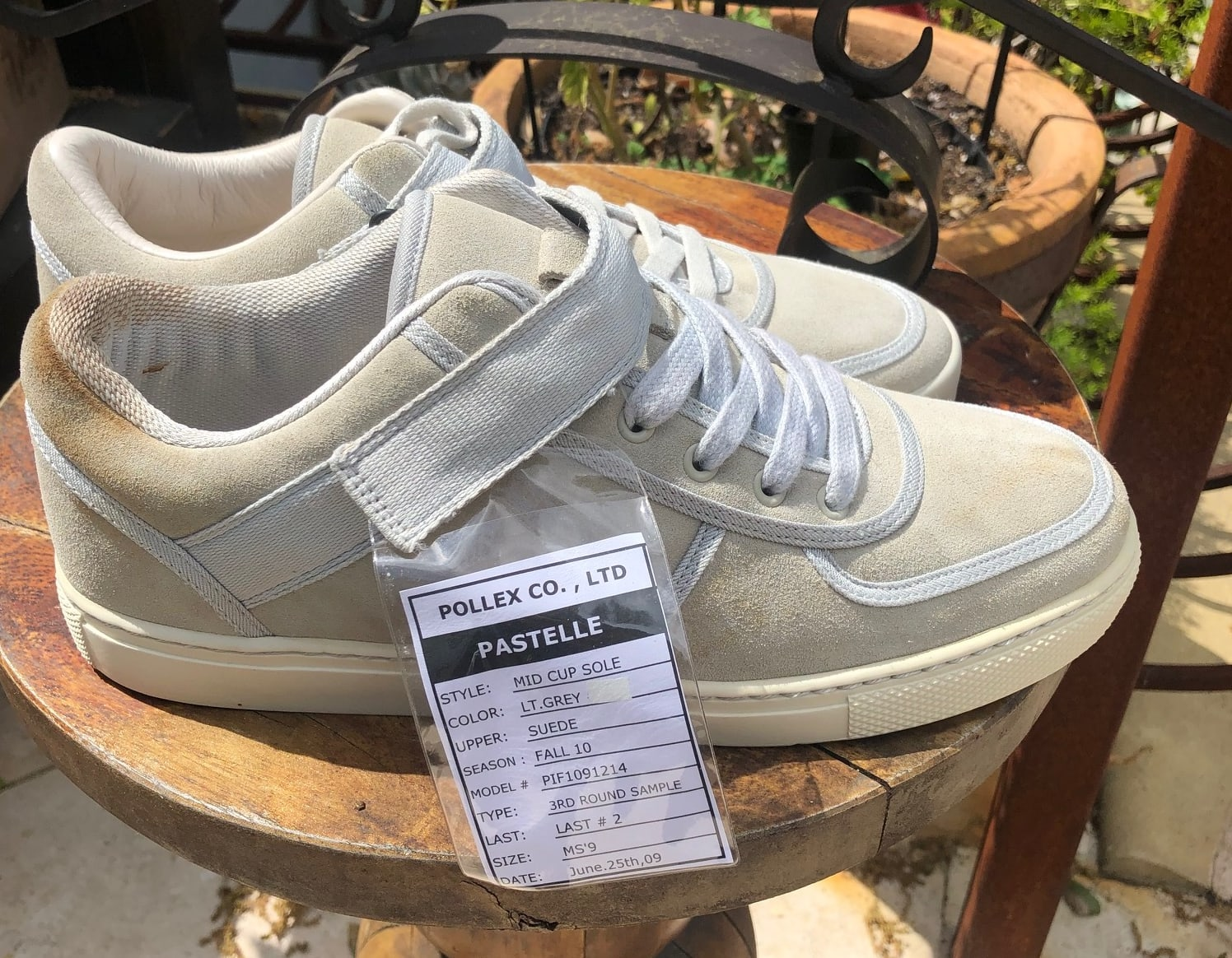 Pastelle Sneaker Sample 5