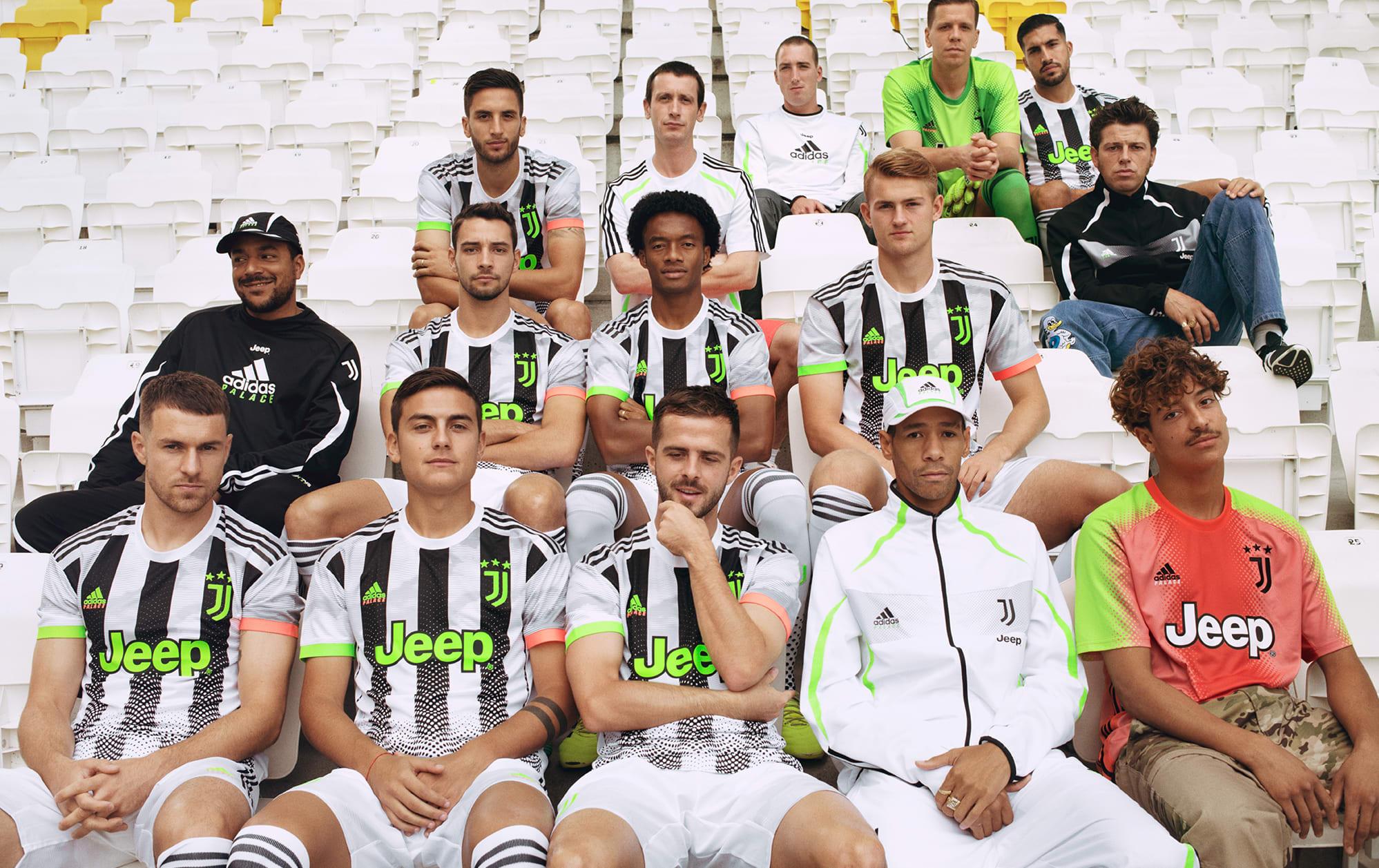 Juventus x Adidas x Palace