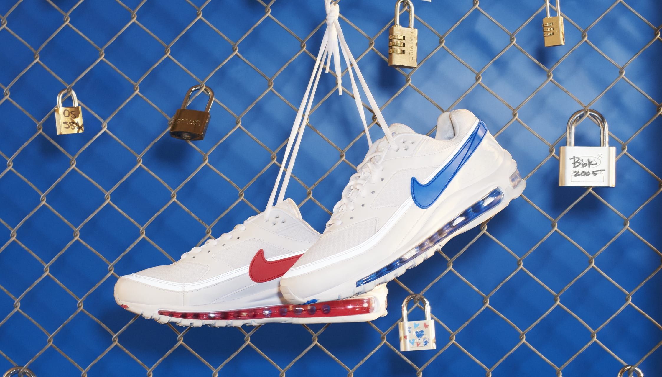 Skepta x Nike Air Mad 97 BW SK (Paire)