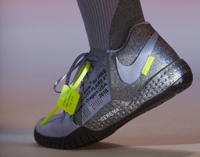 Virgil Abloh x Nike x Serena Williams Queen Collection NikeCourt Flare 2