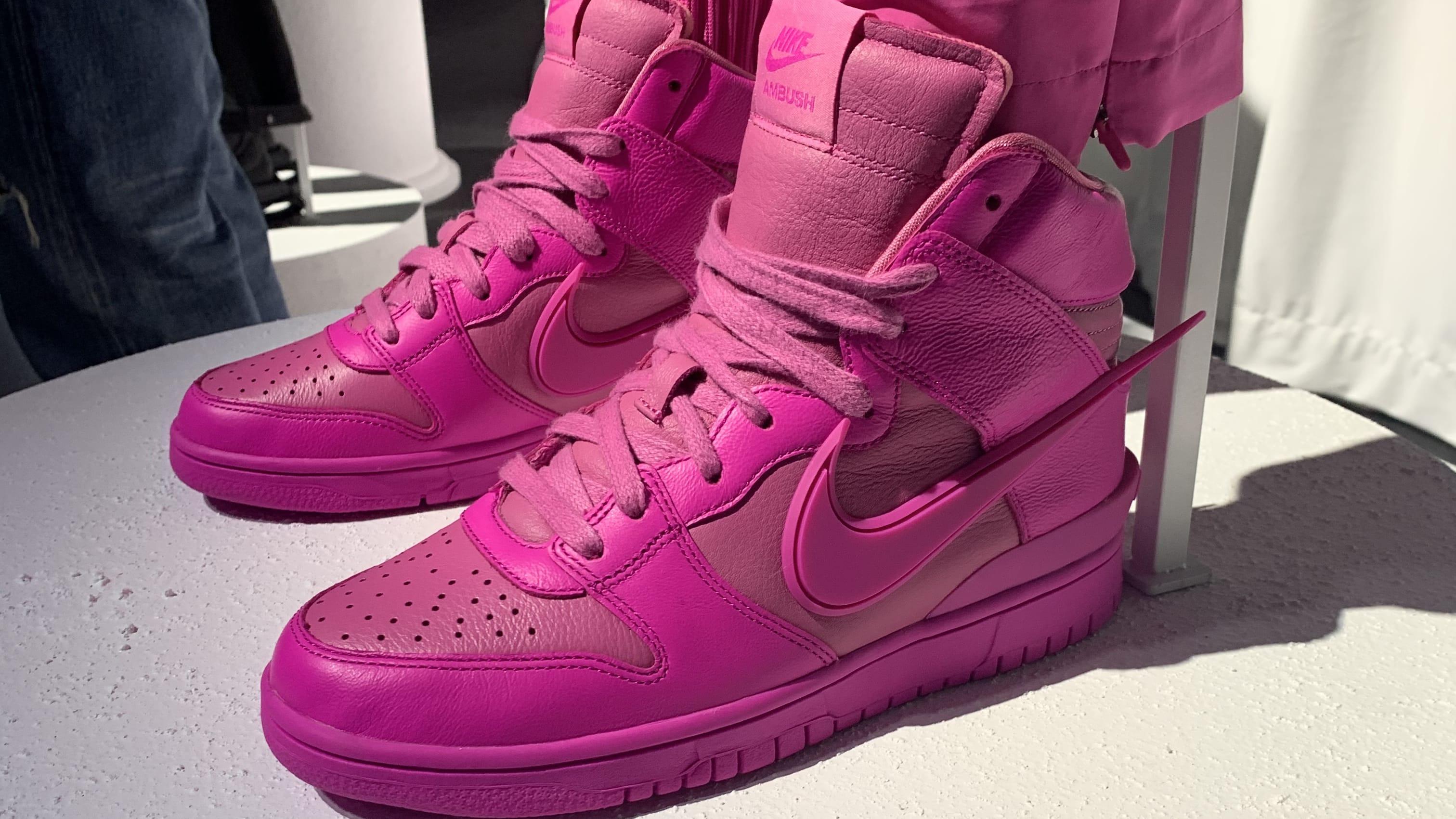 Ambush Nike Dunk High Pink Release Date