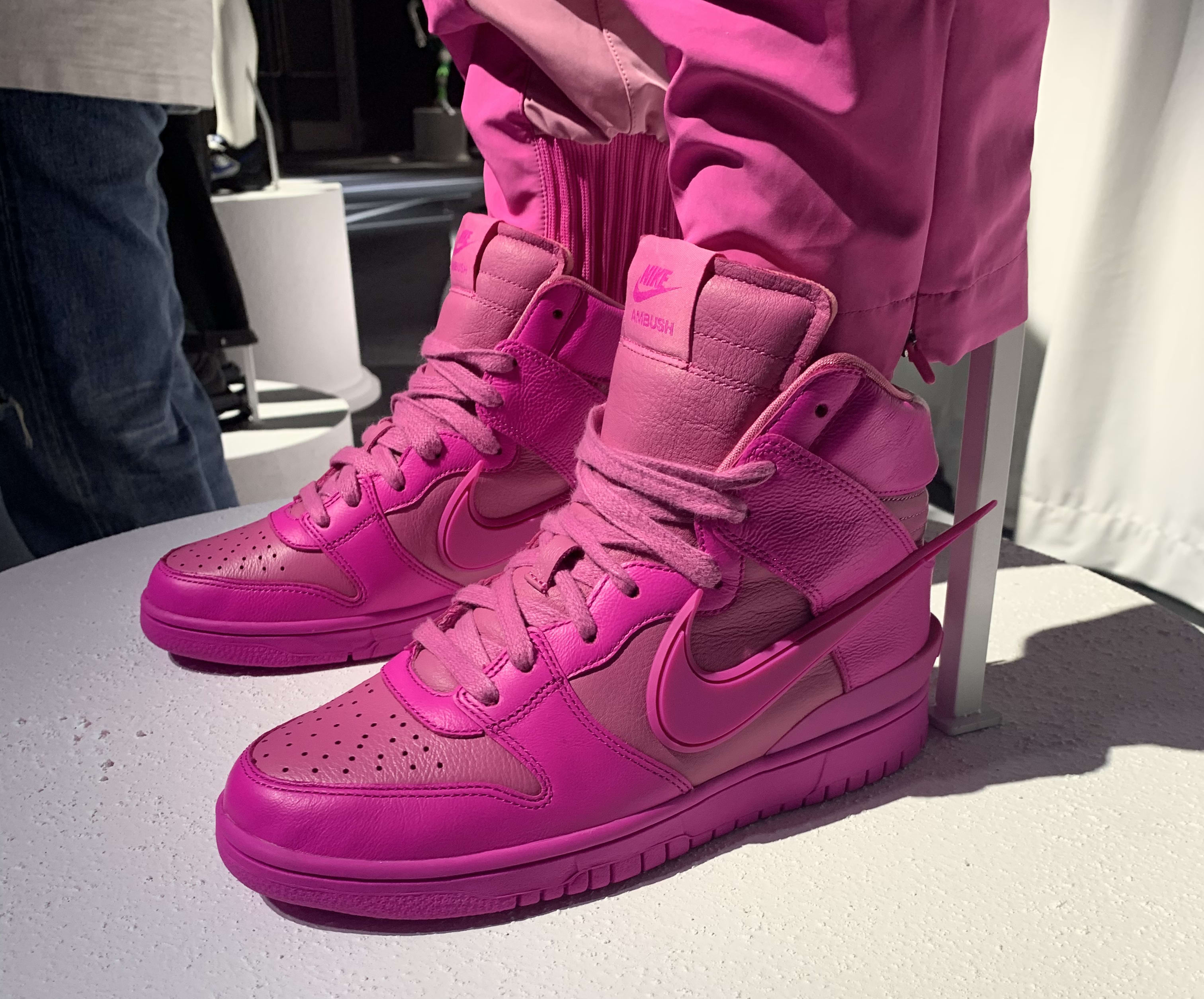 Ambush Nike Dunk High Pink Release Date