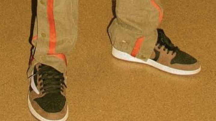 Travis Scott x Air Jordan 1 'Black' 2