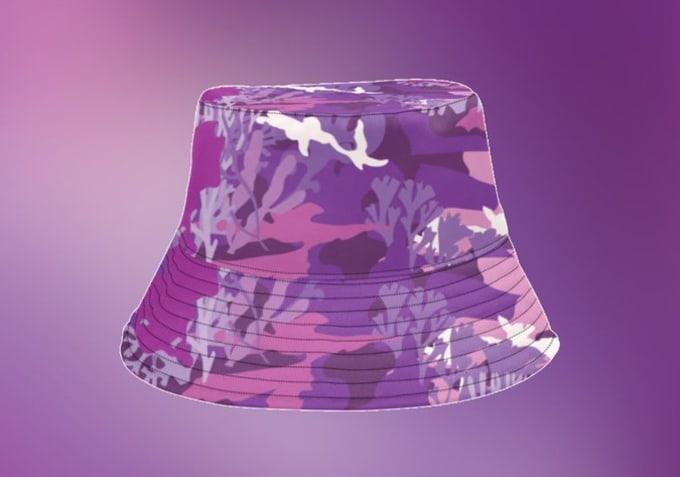 Coral Studios Yams Day Bucket Hat