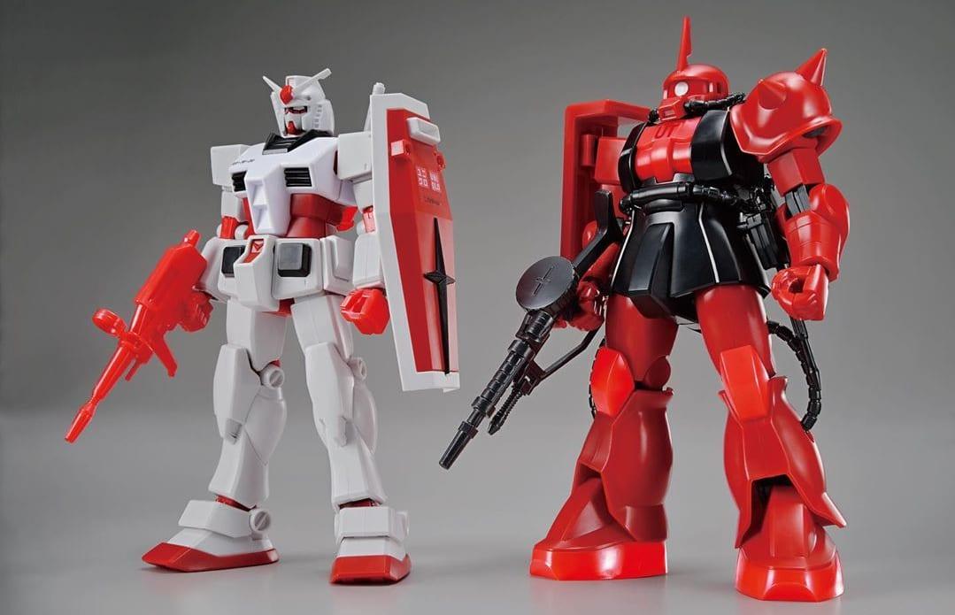 Uniqlo UT Gunpla 'Gundam' Figures