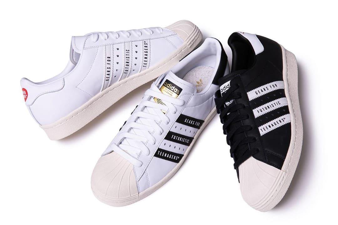 Human Made x Adidas Superstar 80s