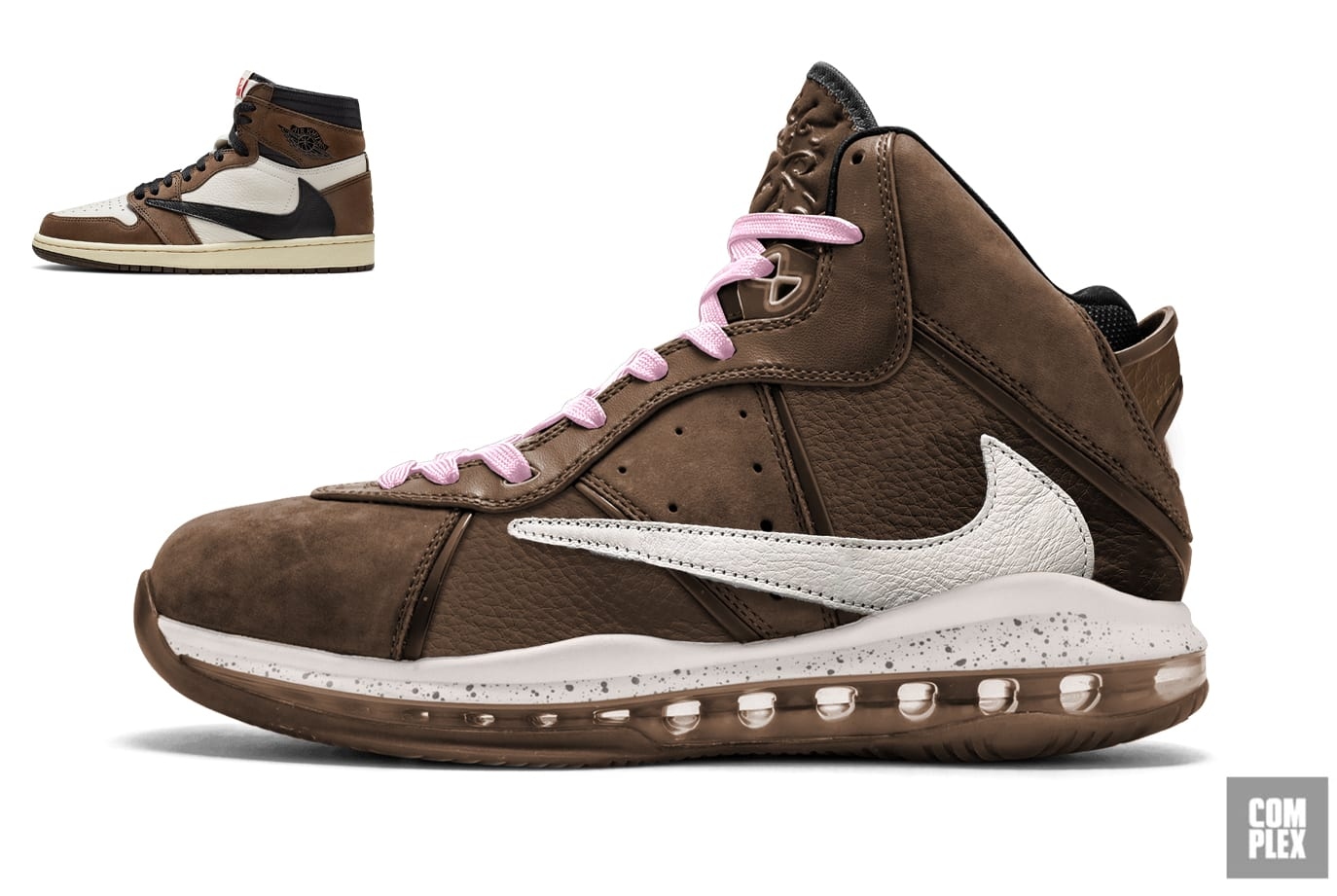 chatarra tanto Validación  What Travis Scott's Collabs Would Look Like as LeBrons | Complex