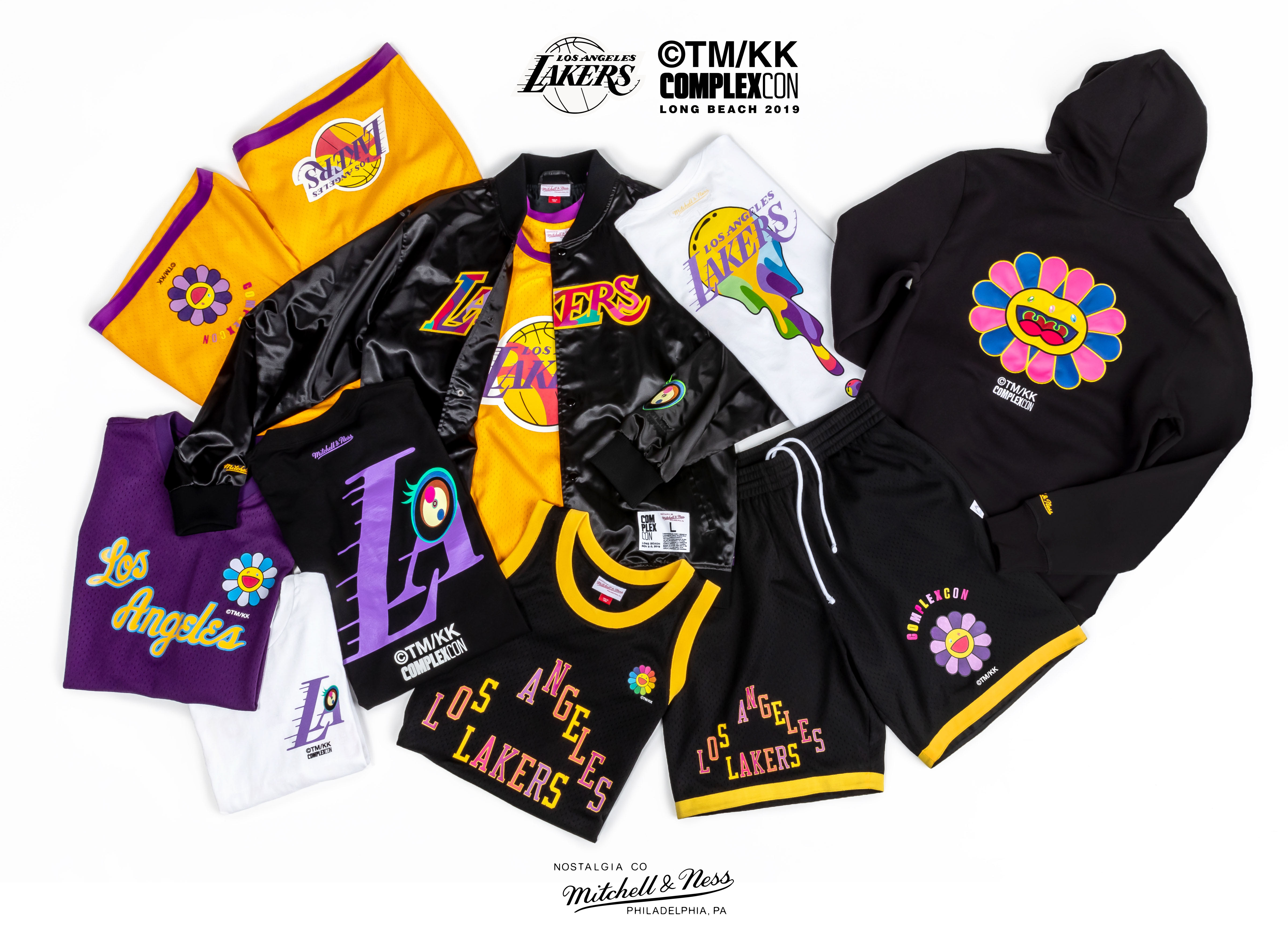Complexcon Lakers Takashi Murukami Merch