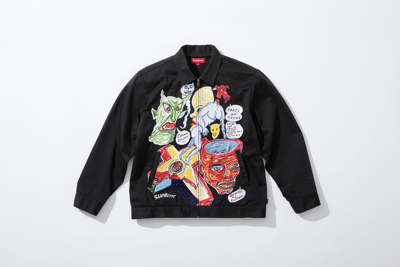 Supreme Daniel Johnston Chore Jacket