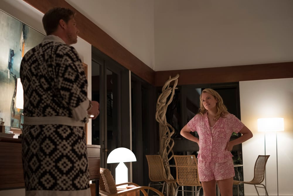 Elisabeth Moss and Tim Heidecker in Jordan Peele's 'Us'
