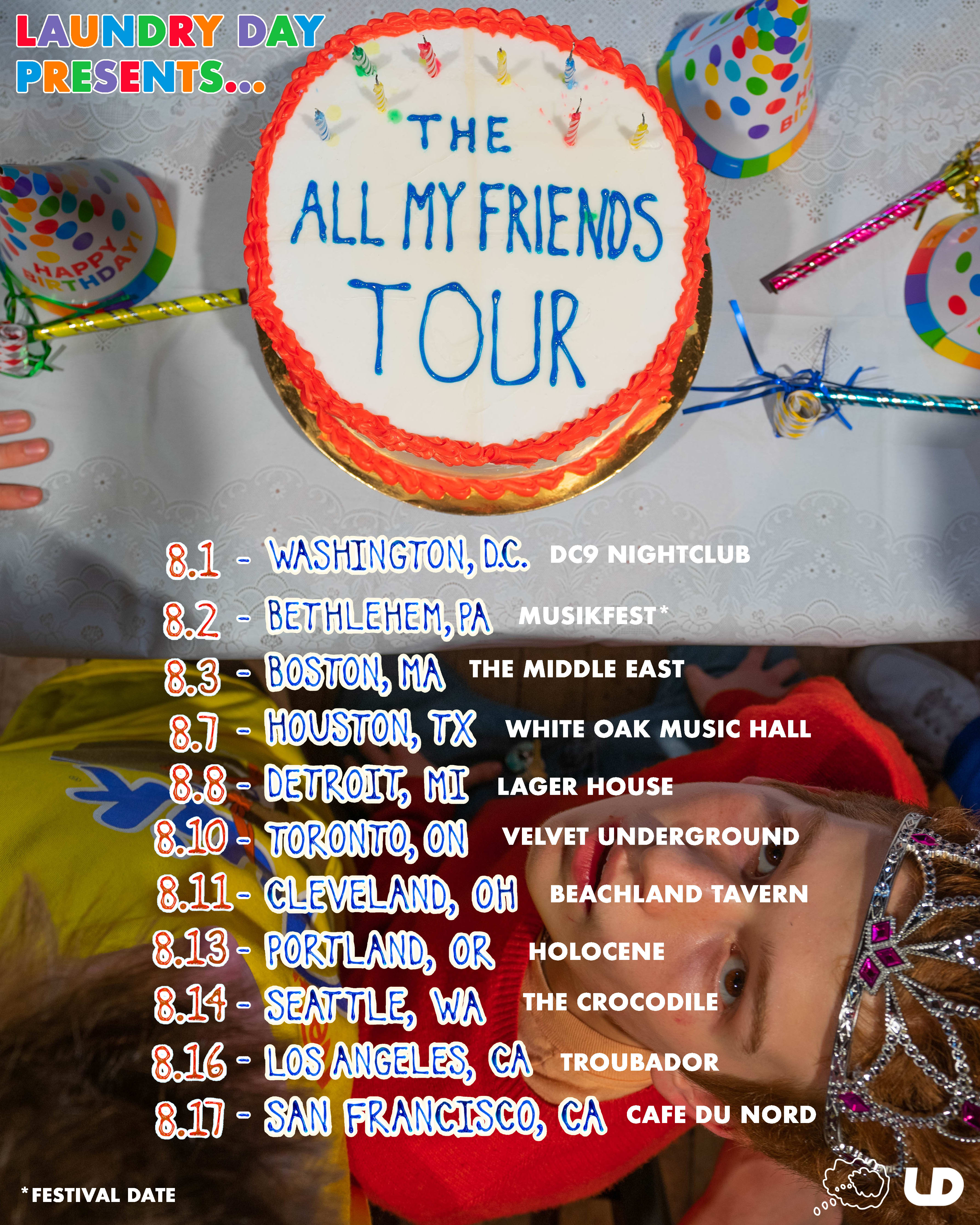 Laundry Day tour