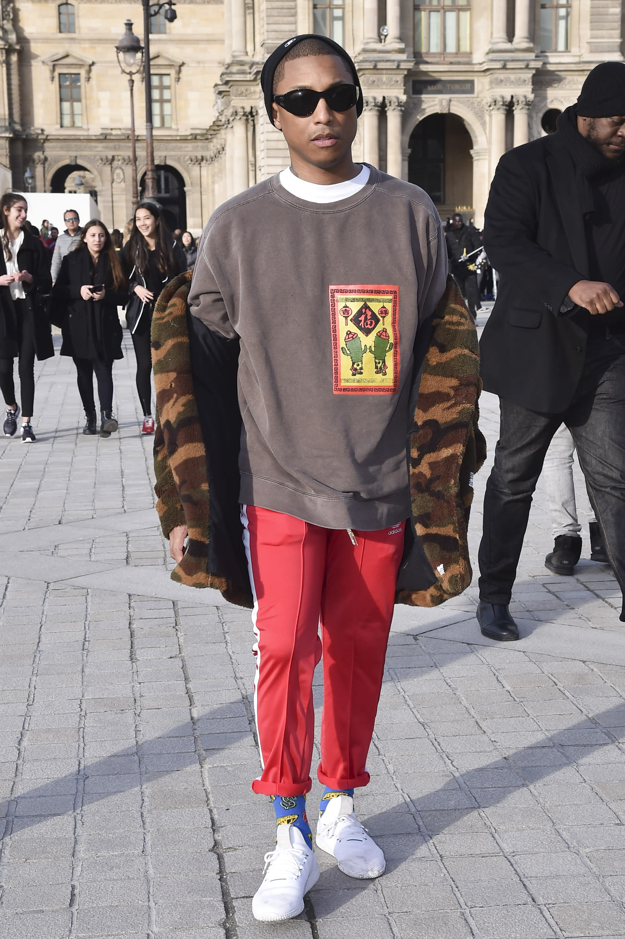 Pharrell Best Outfits 10
