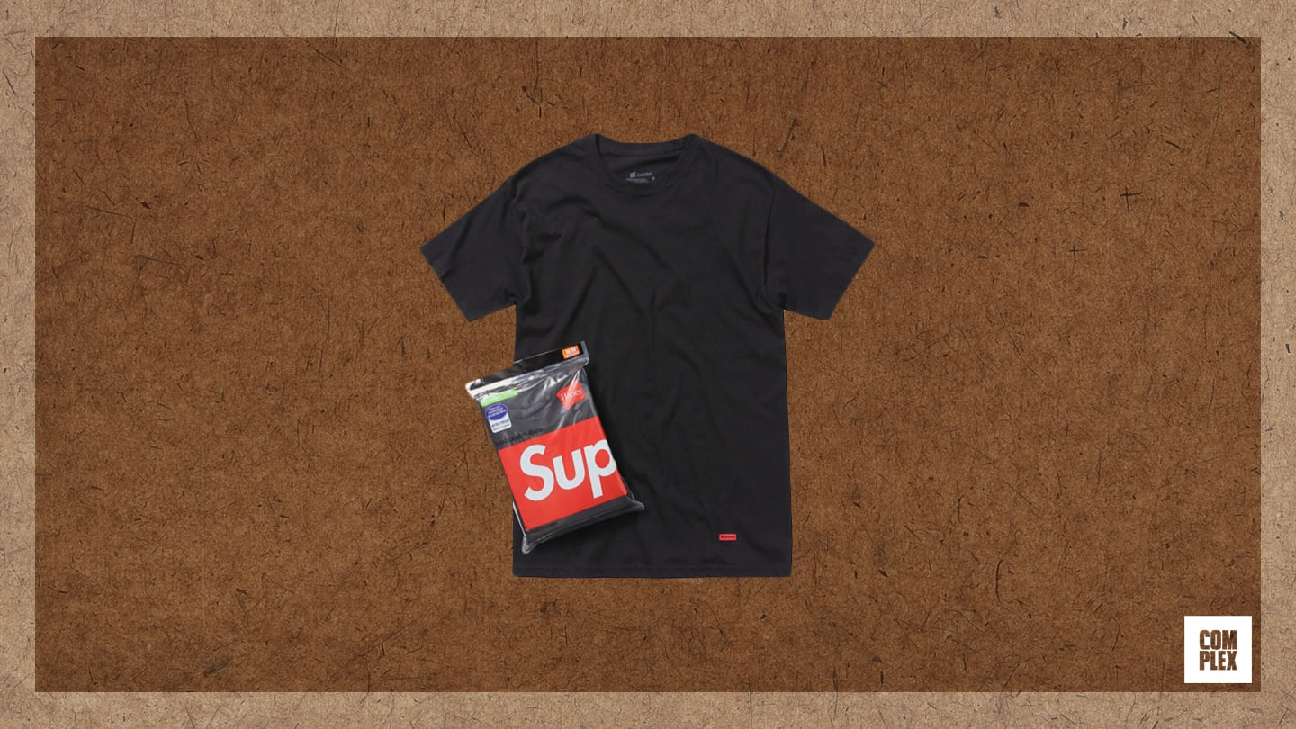 Complex Last 10 Things Eric Whiteback Supreme Hanes Black