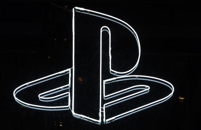 PlayStation logo is displayed during the 'Paris Games Week.'