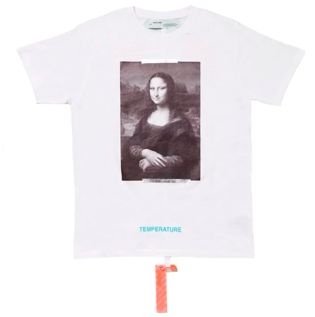 Mona Lisa Re-Issued Off-White Shirt Figures of Speech