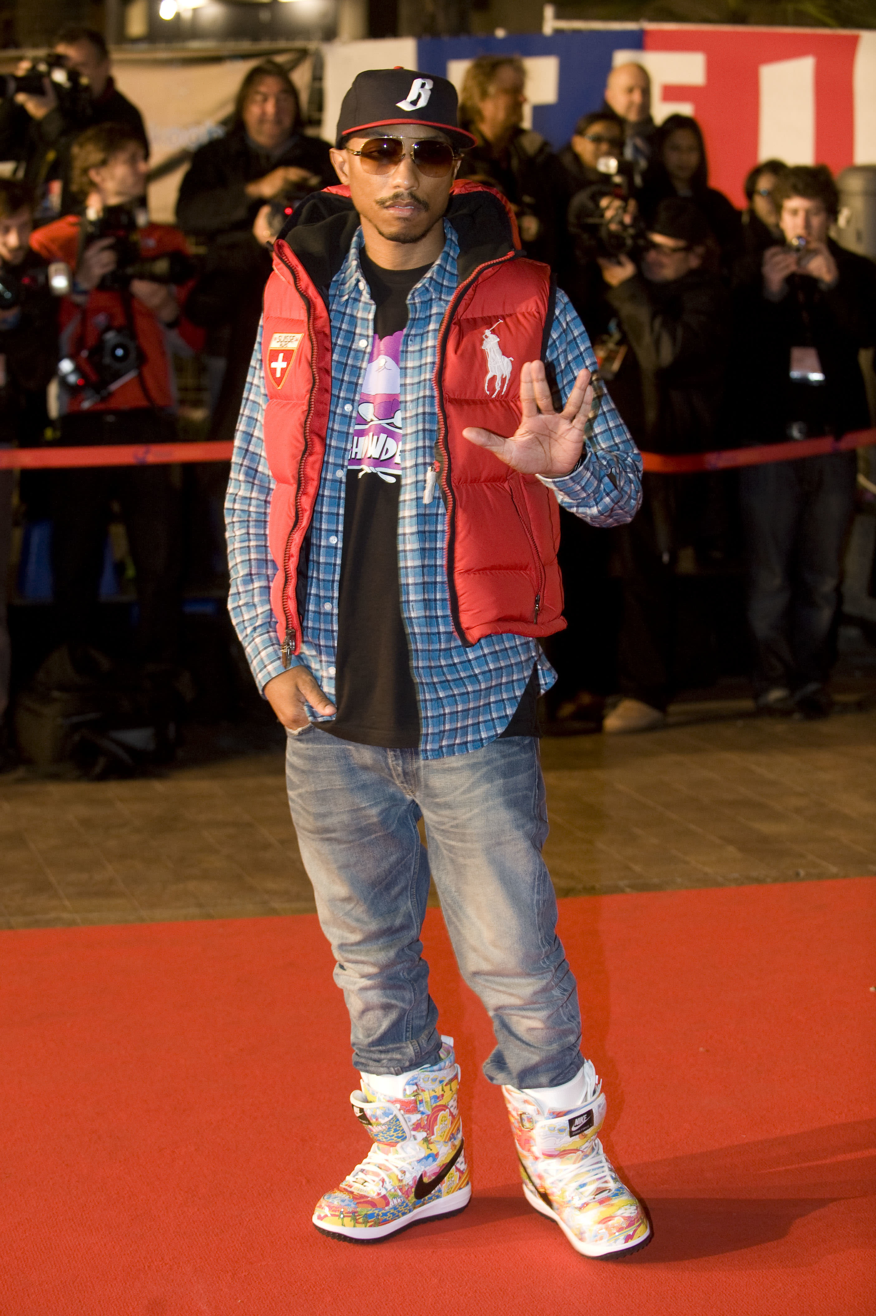 Pharrell Best Outfits 17