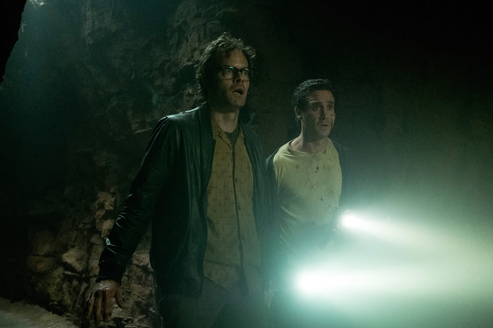 Bill Hader and James Ransone in 'It Chapter Two'