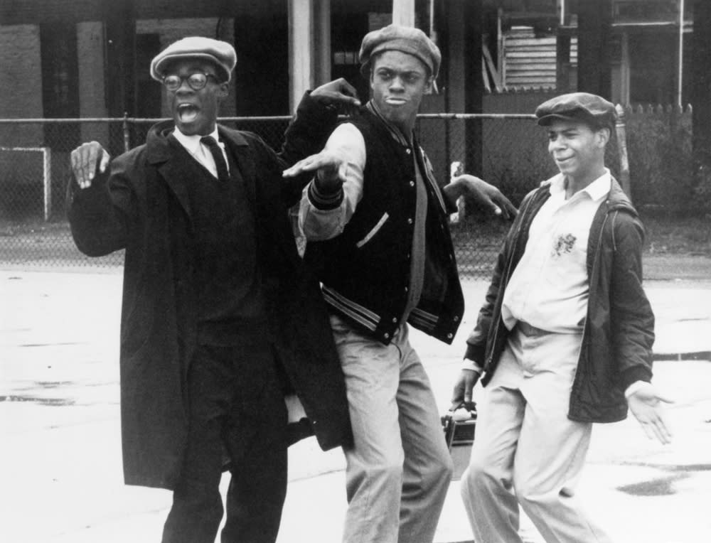 Glynn Turman, Lawrence Hilton Jacobs and Corin Rogers in 'Cooley High'