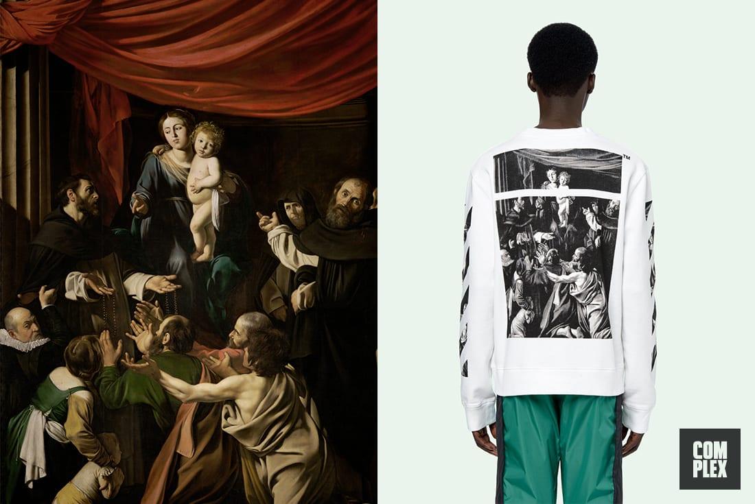 Virgil Abloh Art Inspirations Caravaggio