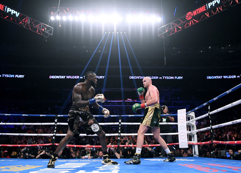 Deontay Wilder Tyson Fury 2018 Staples Center Early Round
