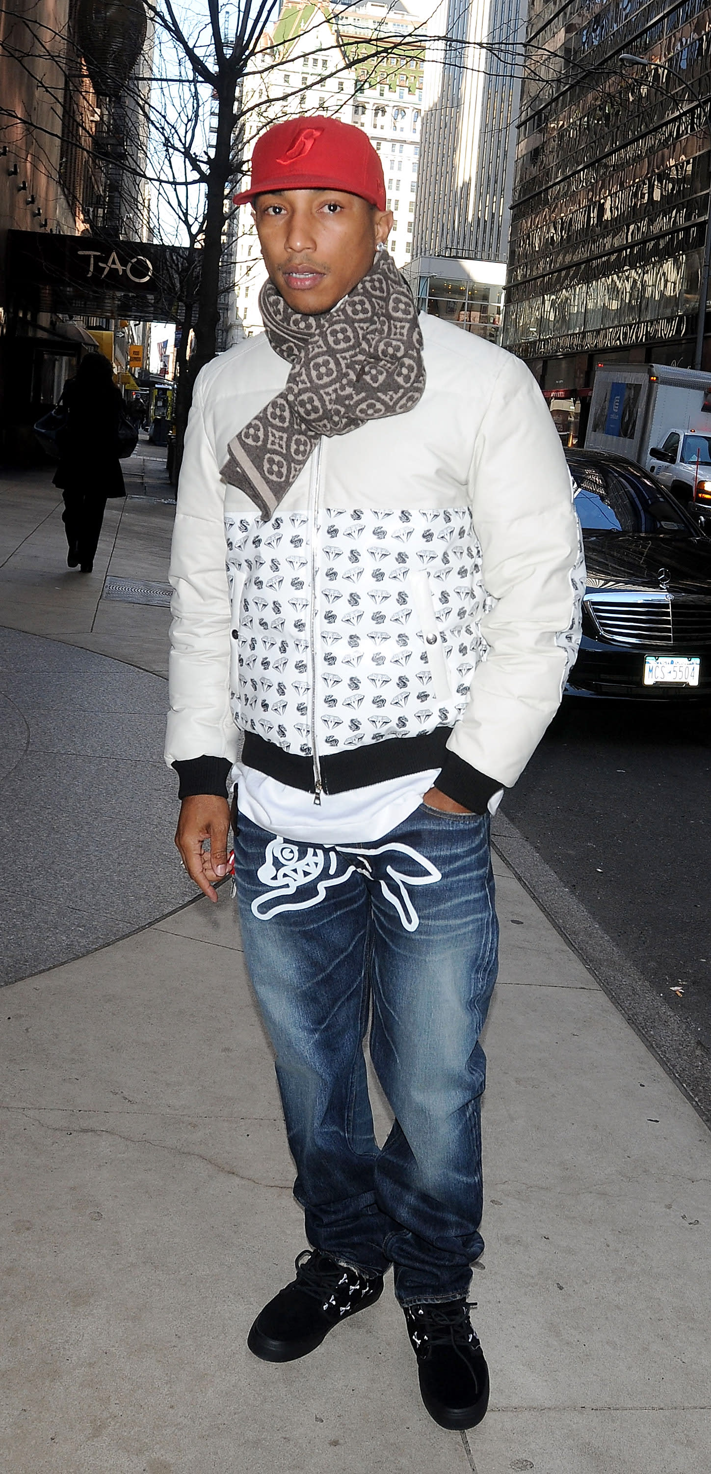 Pharrell Best Outfits 16