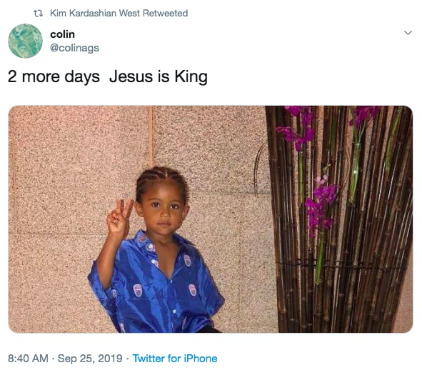 Kanye West S Jesus Is King Reportedly Not Dropping On Friday