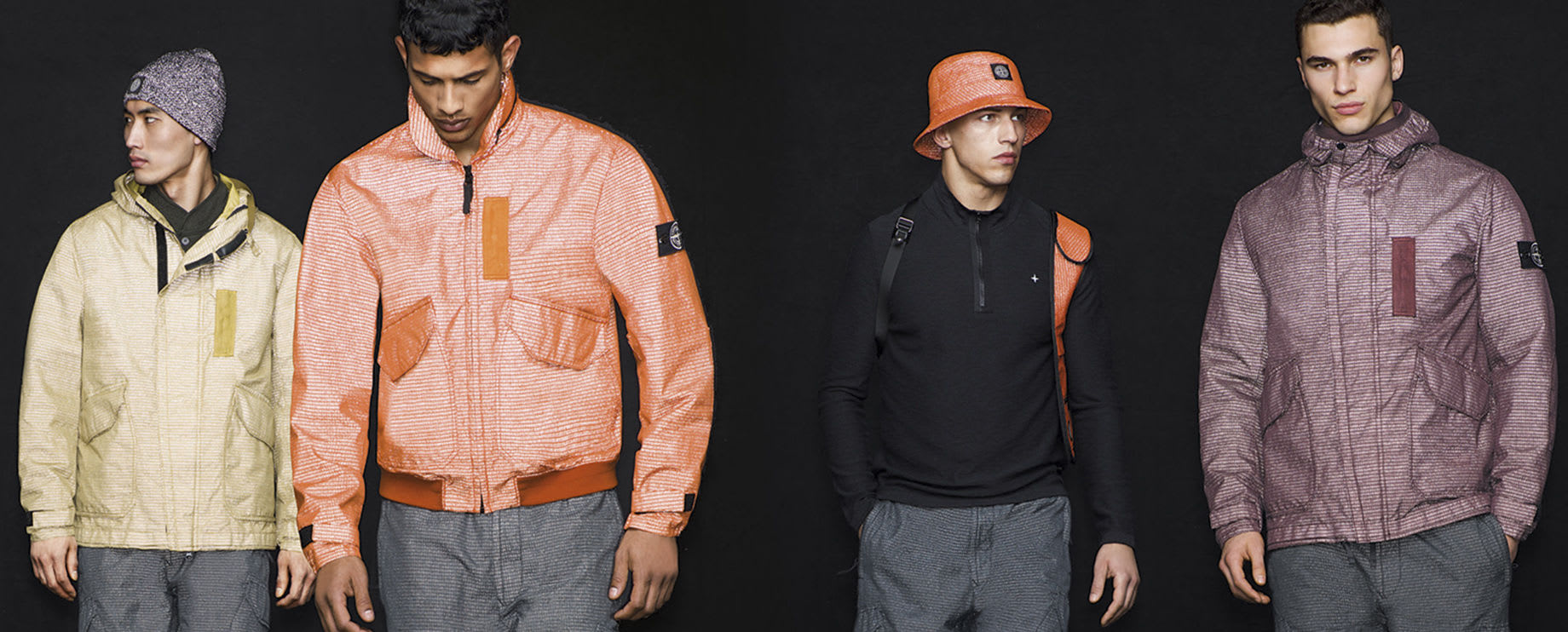 Stone Island Reflective Weave Ripstop Collection
