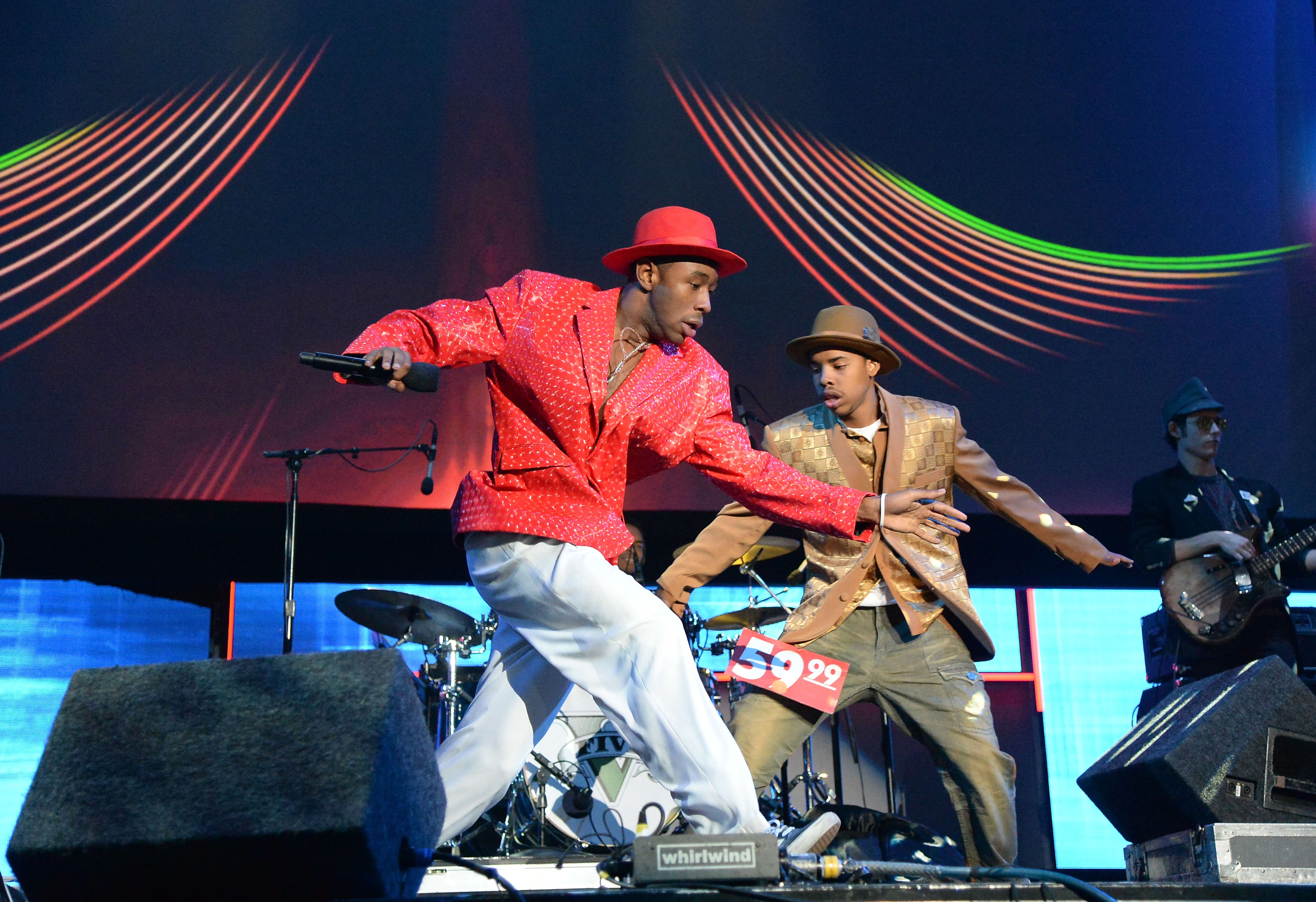 Tyler The Creator Performs At VGX Awards