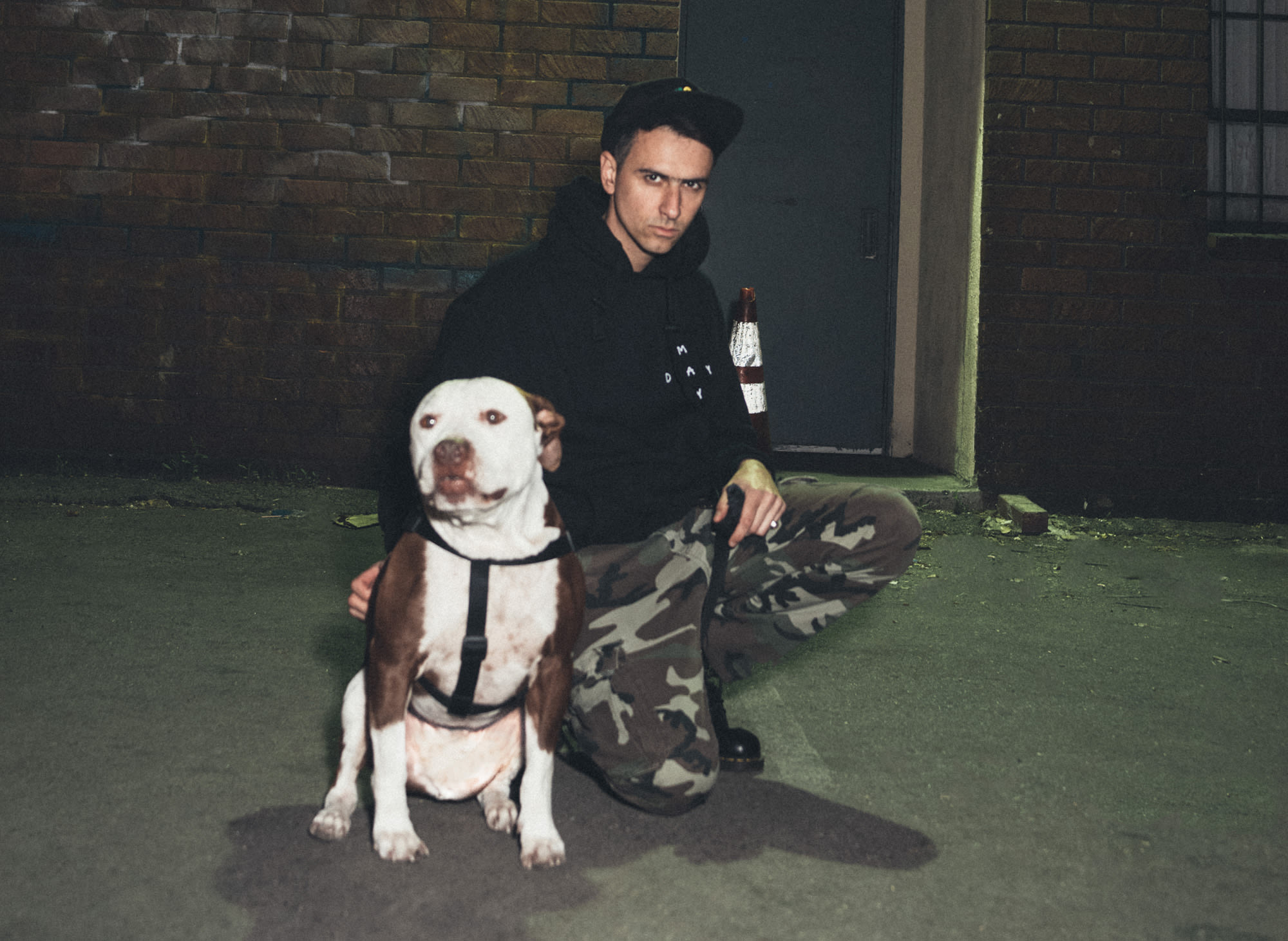 Boys Noize press photo by Shane McCauley