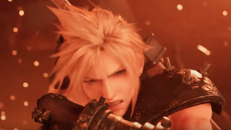 Screenshot from 'FINAL FANTASY VII REMAKE' trailer.