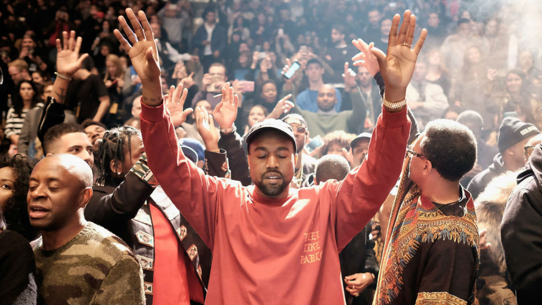 Kanye West Yeezy Season 4 E! Television