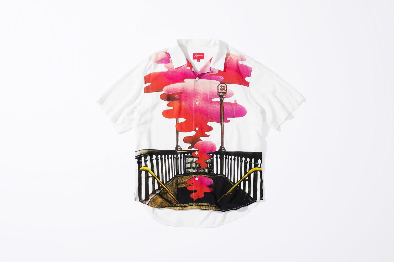 Supreme Velvet Underground Rayon Shirt