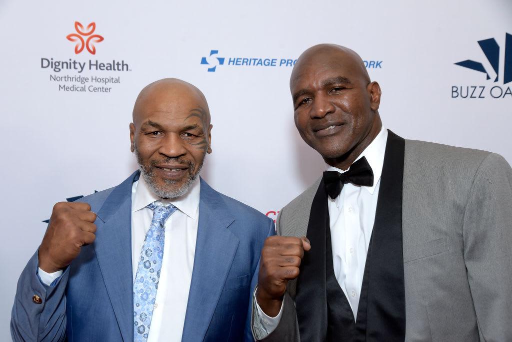 Mike Tyson Evander Holyfield Beverly Hills 2019