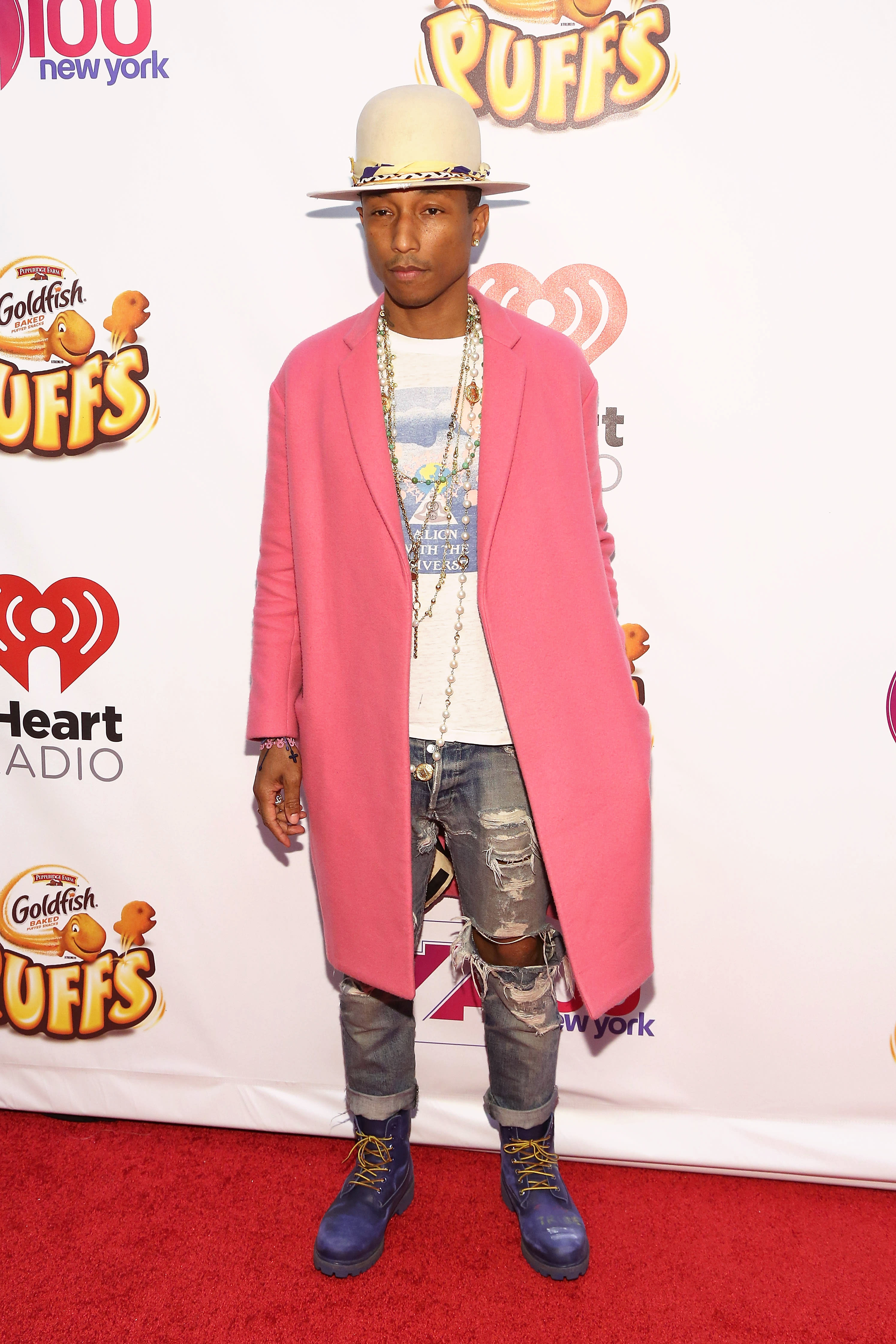 Pharrell Best Outfits 14