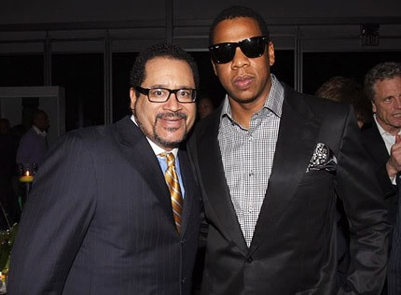 Michael Eric Dyson and JAY-Z